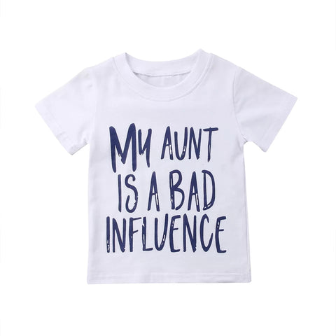 'My Aunt is a Bad Influence' Tee