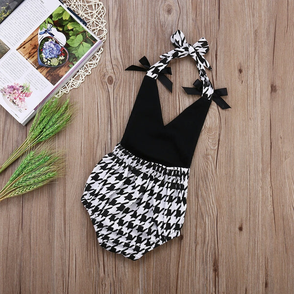Zara Black & White Romper