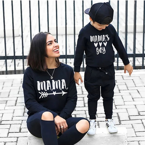Mama & Mama's Boy Matching Jumpers (3 Colours)