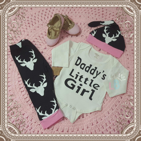 'Daddy's Little Girl' 3 Piece Set