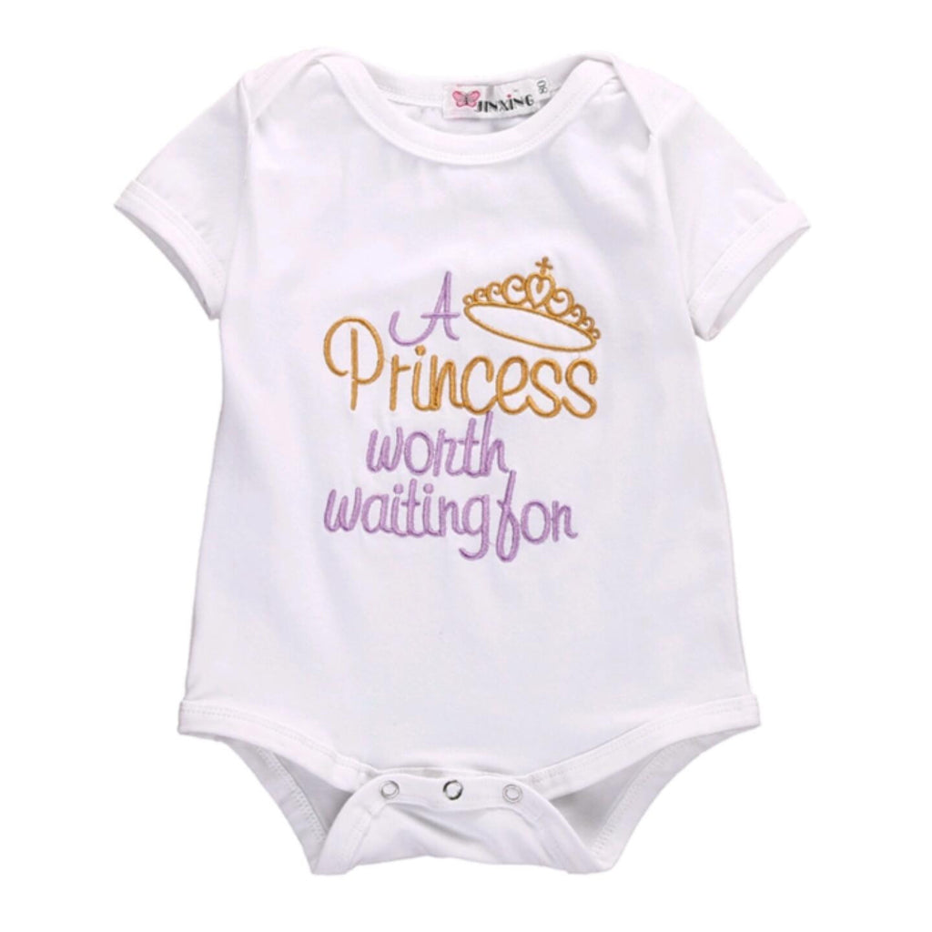 'A Princess Worth Waiting For' Bodysuit