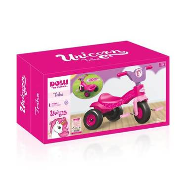 Dolu My First Ride-On Trike - Unicorn Pink