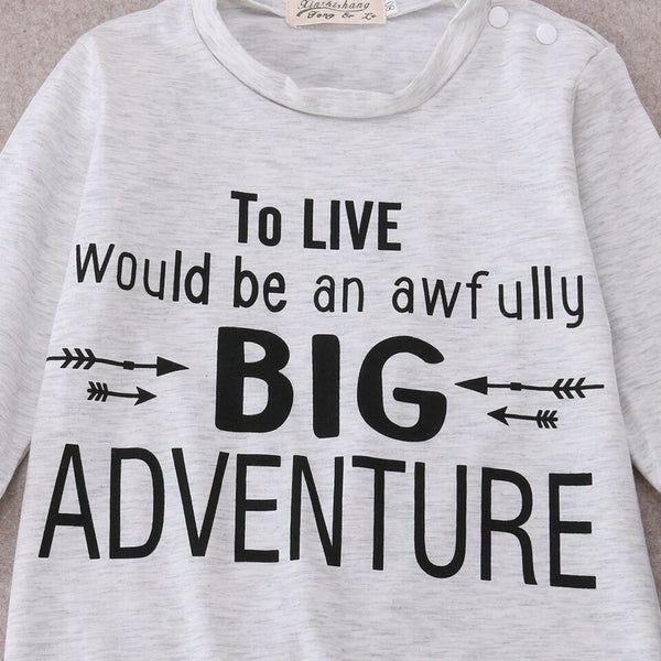 'To Live Would Be An Awefully BIG Adventure' Jumpsuit