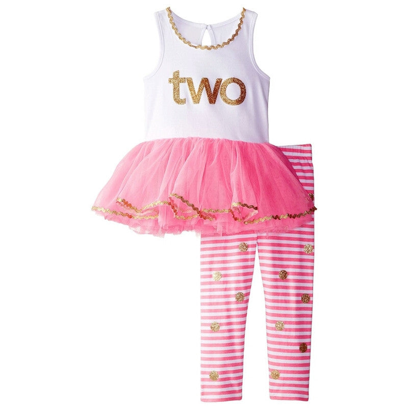 'Two' Birthday 2 Piece Set