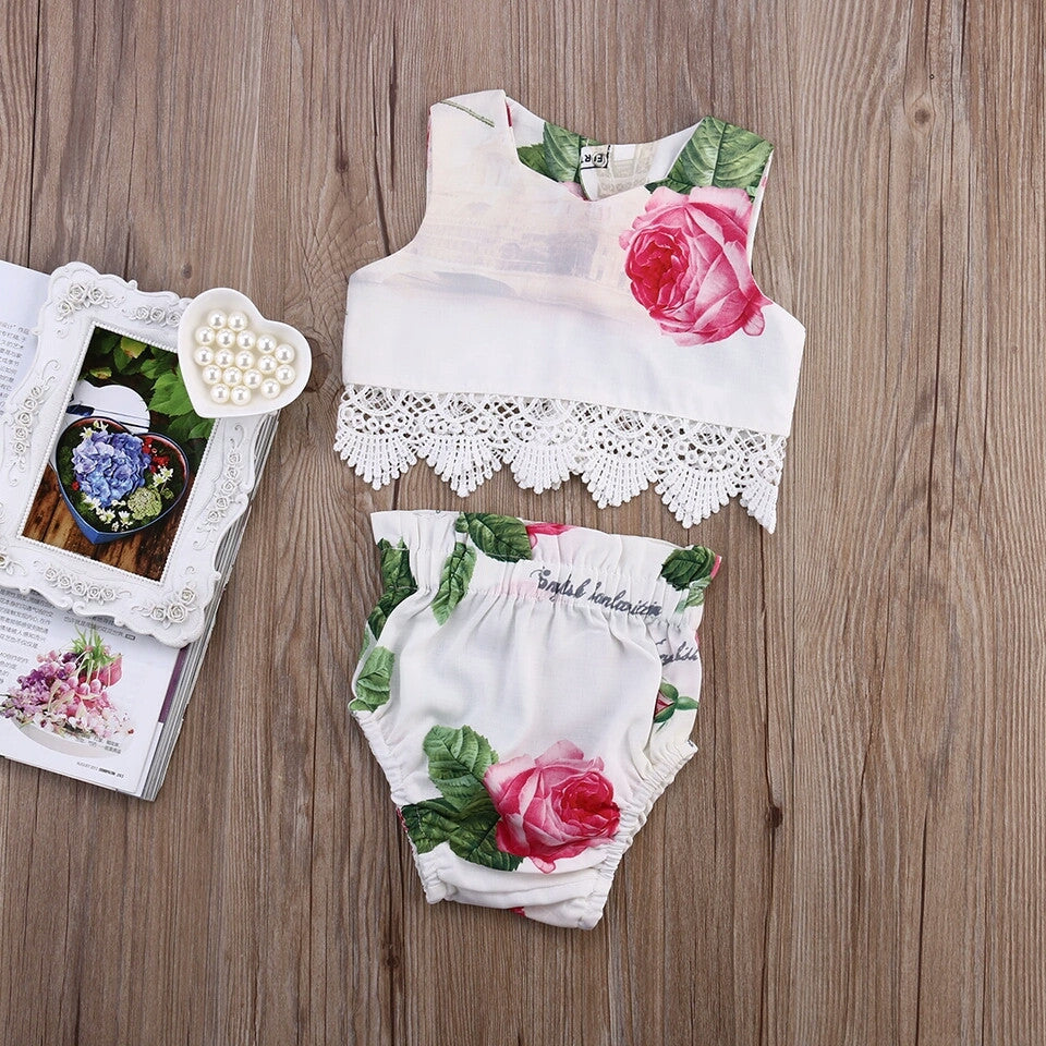 Lace & Roses 2 Piece Set