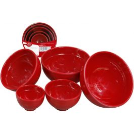 Betty Crocker 5 Piece Prep Bowl Set (In Stock)