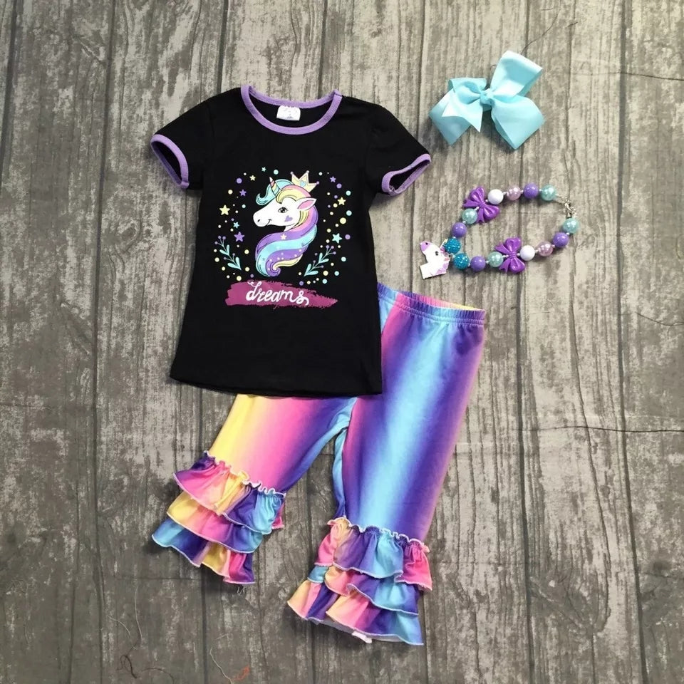 Unicorn Dreams 4 Piece Outfit (Limited Edition)