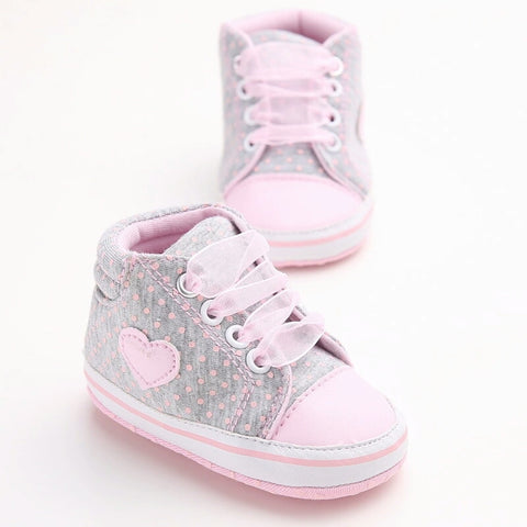 Heart Hightop Prewalkers (2 Colours)