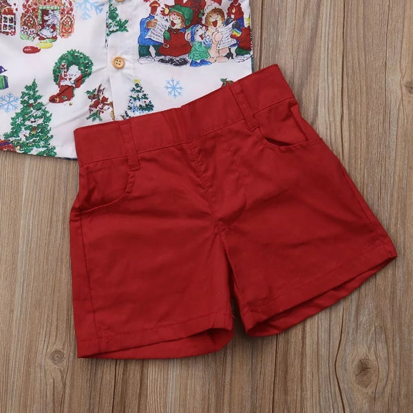2018 Boys Christmas 2 Piece Set (Design 1)