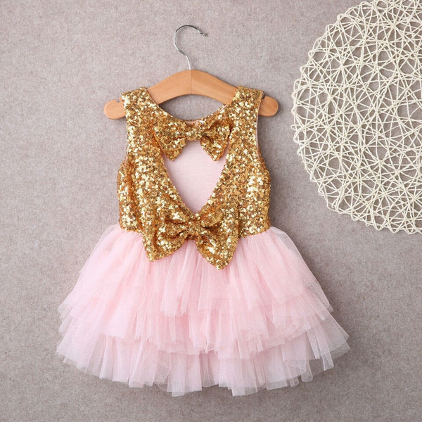 Stunning Louisa Dress (Gold)