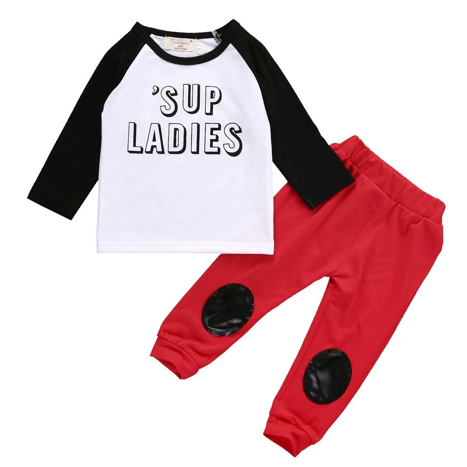 'SUP LADIES' 2 Piece Set