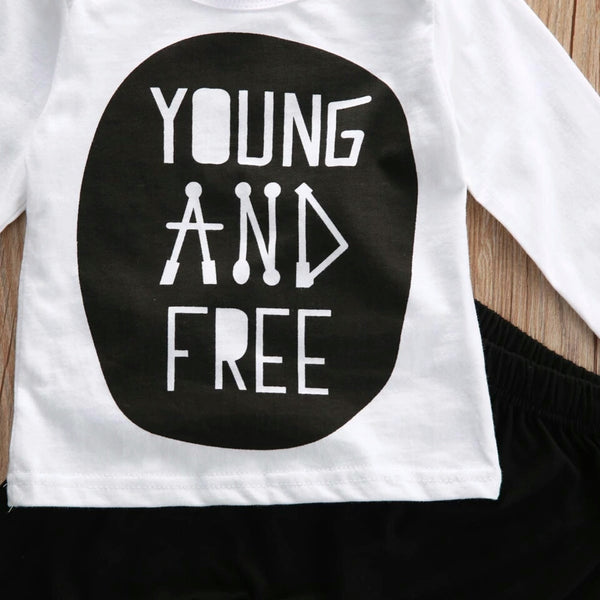 'Young and Free' 2 Piece Set