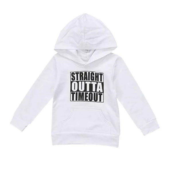 Straight Outta Timeout Hoodie
