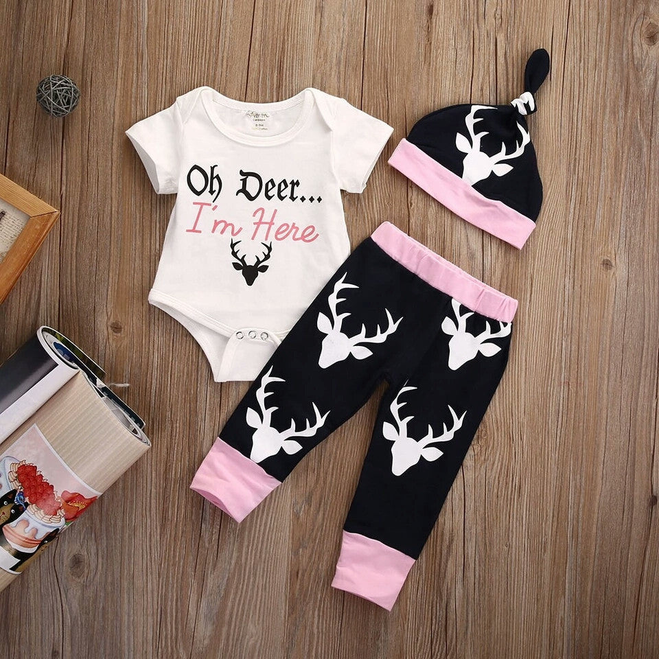 'Oh Deer... I'm HERE' 3 Piece Set