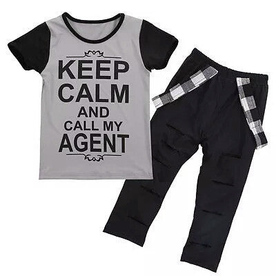 Keep Calm And Call My Agent 2 Piece Set