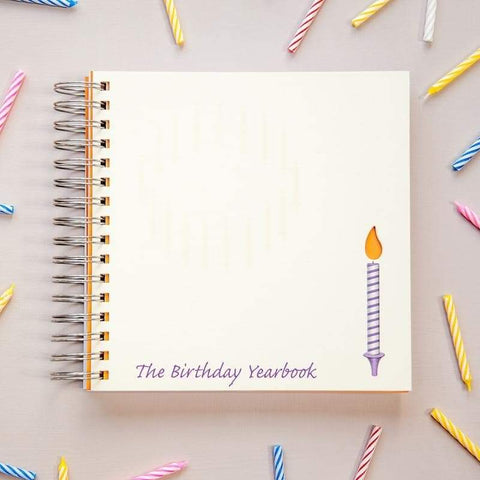 The Birthday Yearbook - A Once a Year Journal