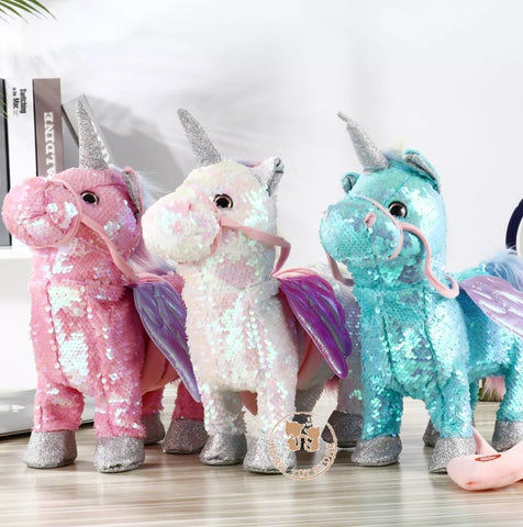 Walking Musical SPARKLE Unicorn Pet (3 Colours) ▪PreOrder▪