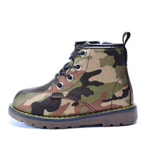 Camouflage Boots (3 Colours)