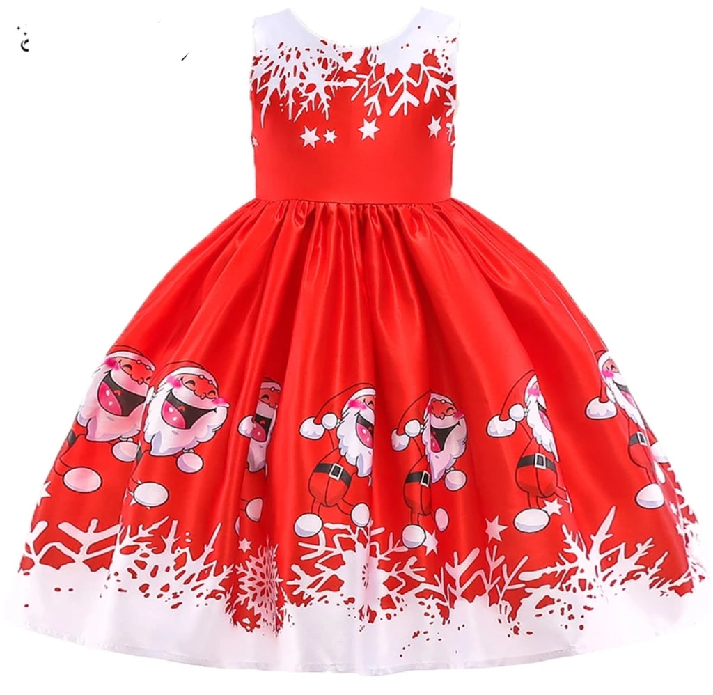 2018 Happy Santa Christmas Dress