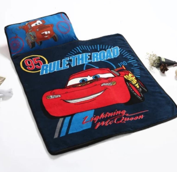 Disney Portable Travel Nap Mat with Blanket & Pillow (8 Designs)