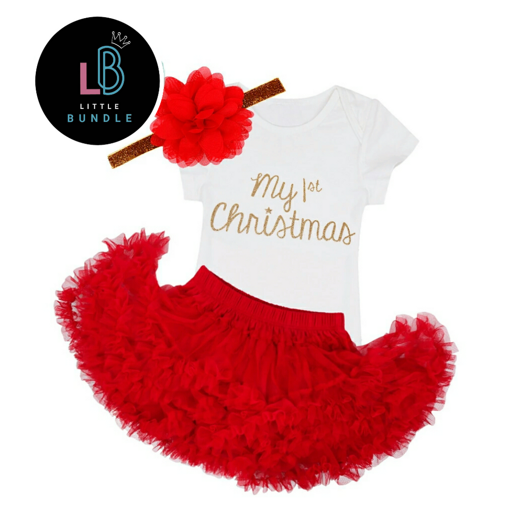 'My First Christmas' 3 Piece Set