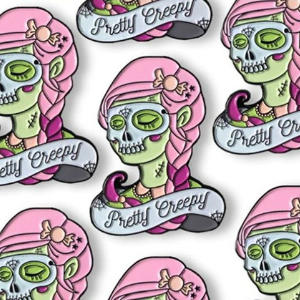 Cult Fiction Press Pretty Creepy Pin