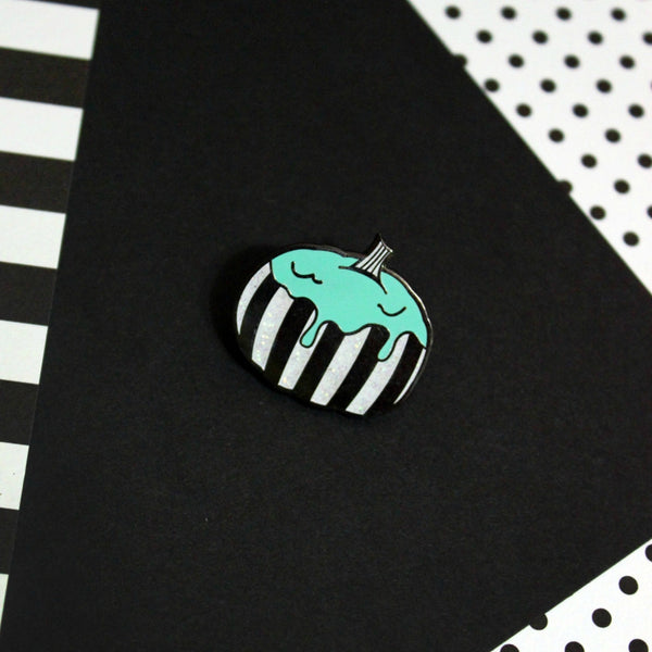 Magic Circle Slime Pumpkin Pin