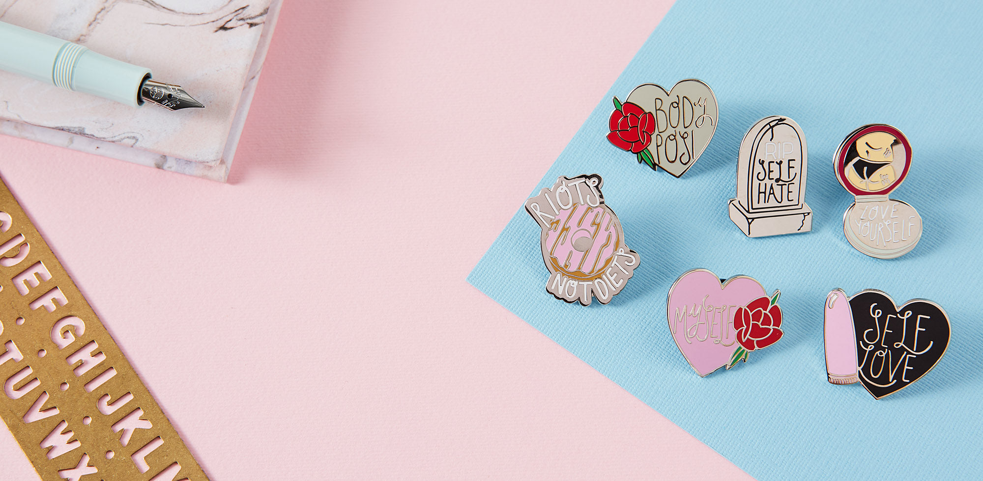 Cool Pins, Jacket Pins, Backpack Pins, Free Delivery Available