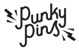 Punky Pins Transparent Logo