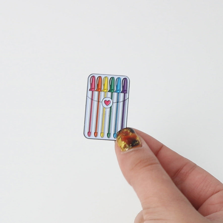 Stationery Gel Pens Enamel Pin