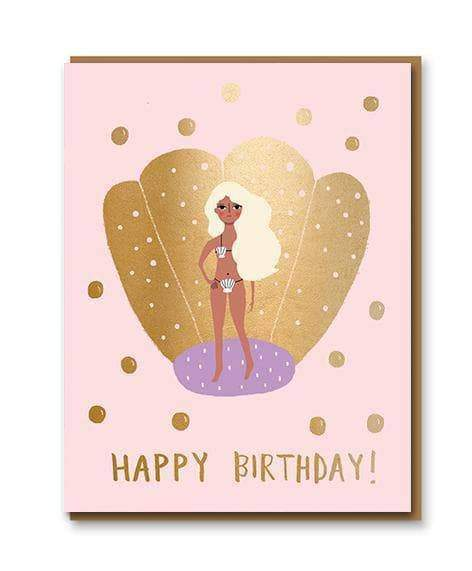 Aphrodite Birthday Greetings Card