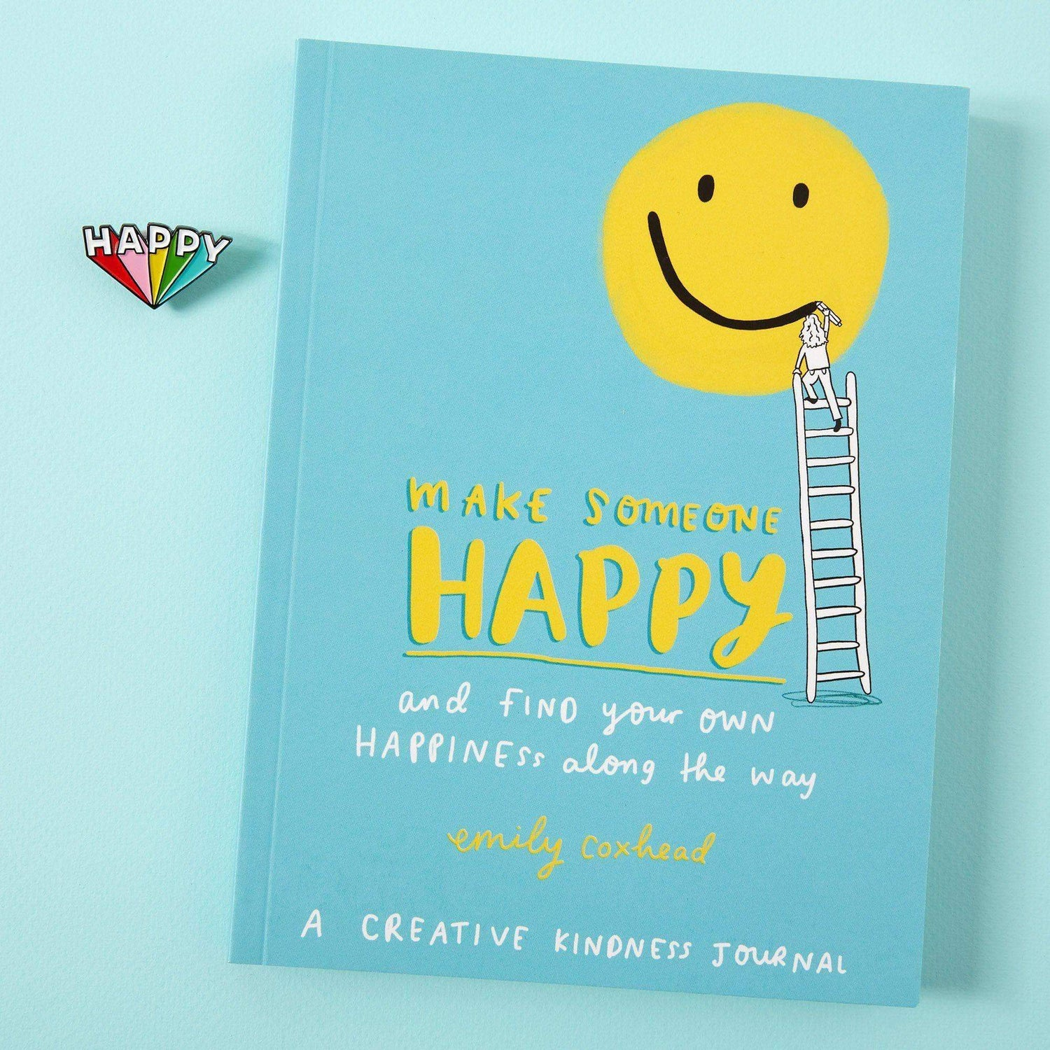 Penguin Random House Make Someone Happy Book and Pin Bundle