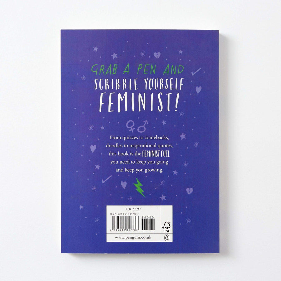 Scribble Yourself Feminist Book