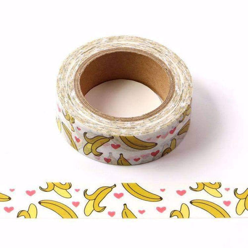 Punky Pins Banana Print Washi Tape