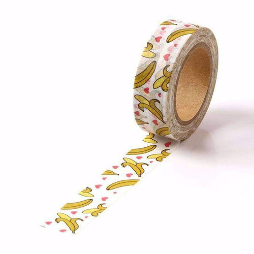 Banana Print Washi Tape