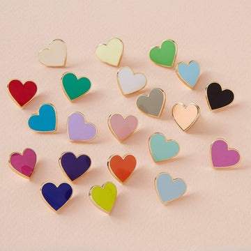 Basic Heart Enamel Pin