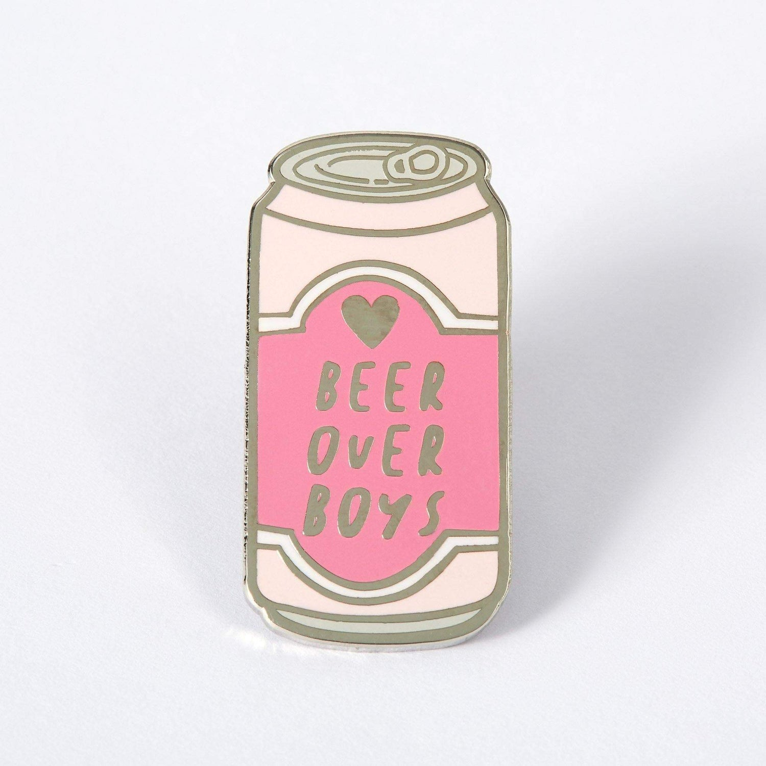 Punky Pins Beer Over Boys Enamel Pin