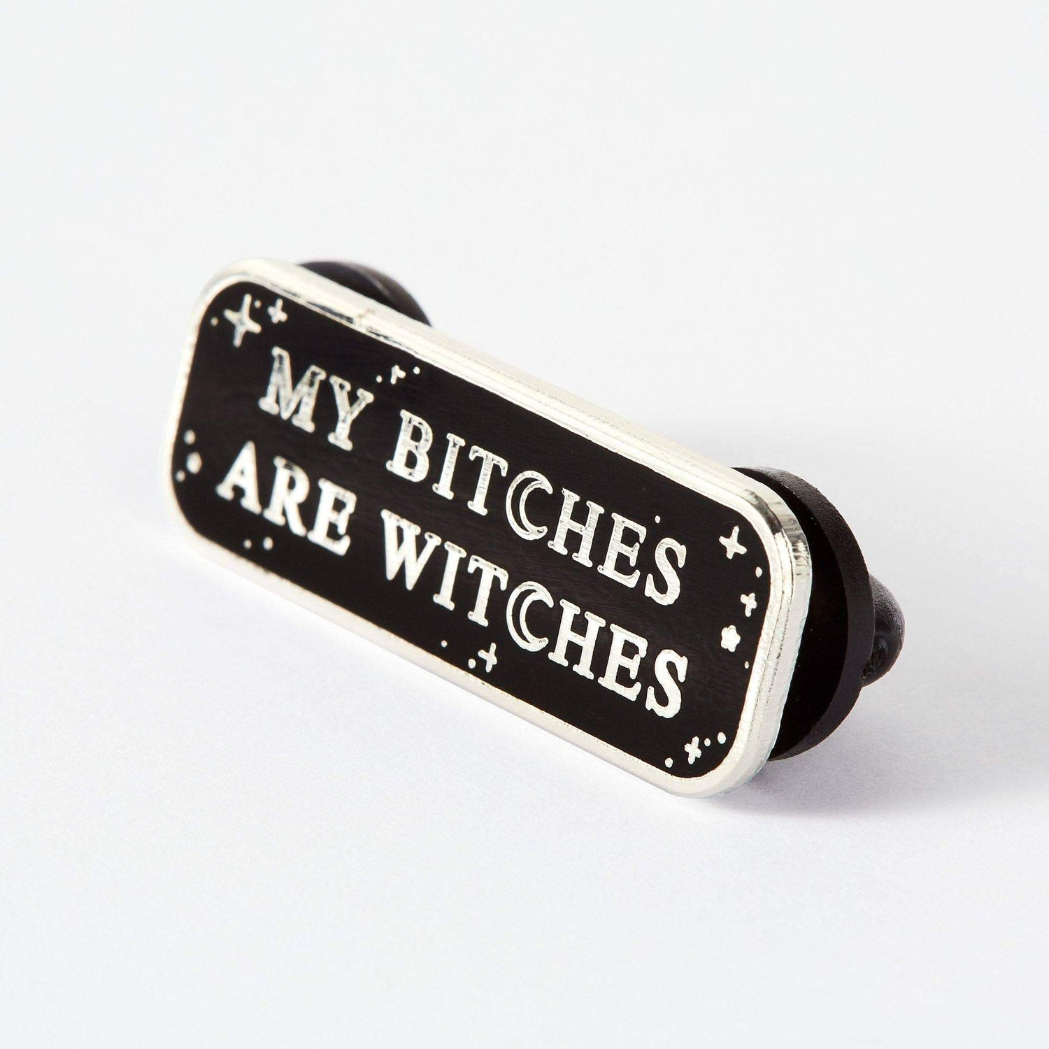 Punky Pins Bitches are Witches Enamel Pin