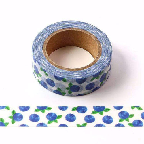 Punky Pins Blueberry Print Washi Tape