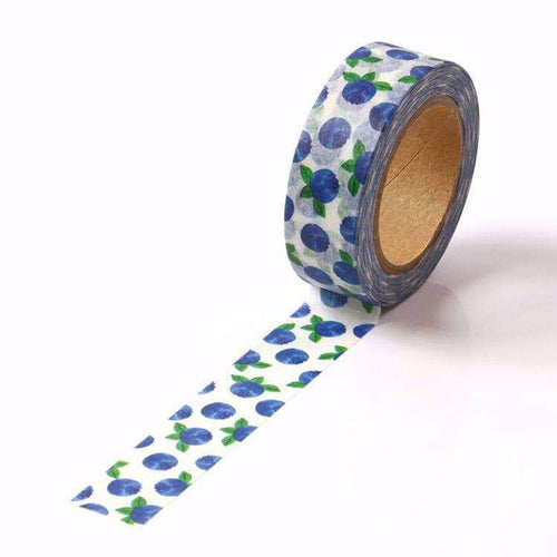 Blueberry Print Washi Tape