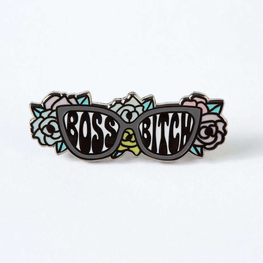 Boss Bitch Enamel Pin