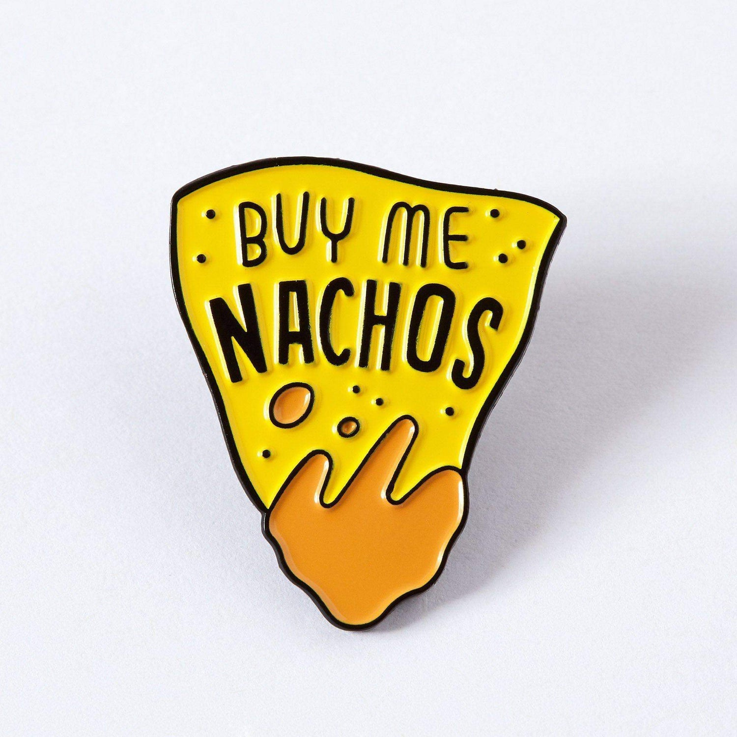 Punky Pins Buy Me Nachos Enamel Pin