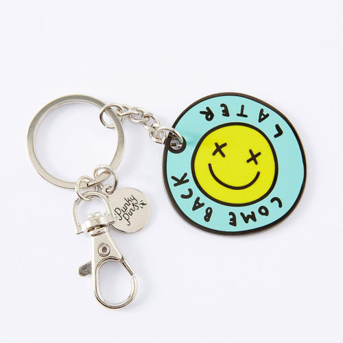 Come Back Later Enamel Keyring