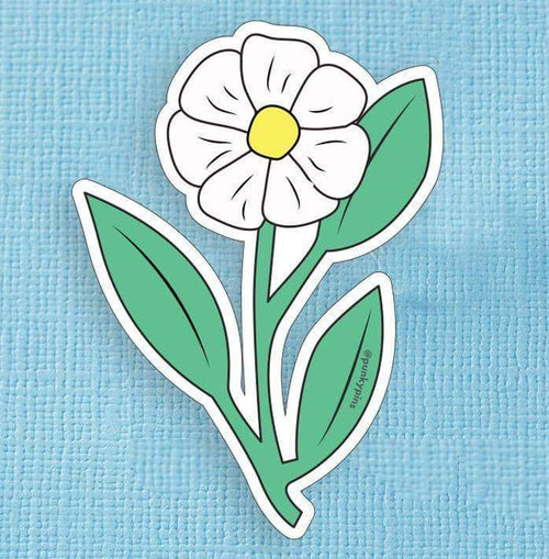 Daisy Die Cut Vinyl Sticker