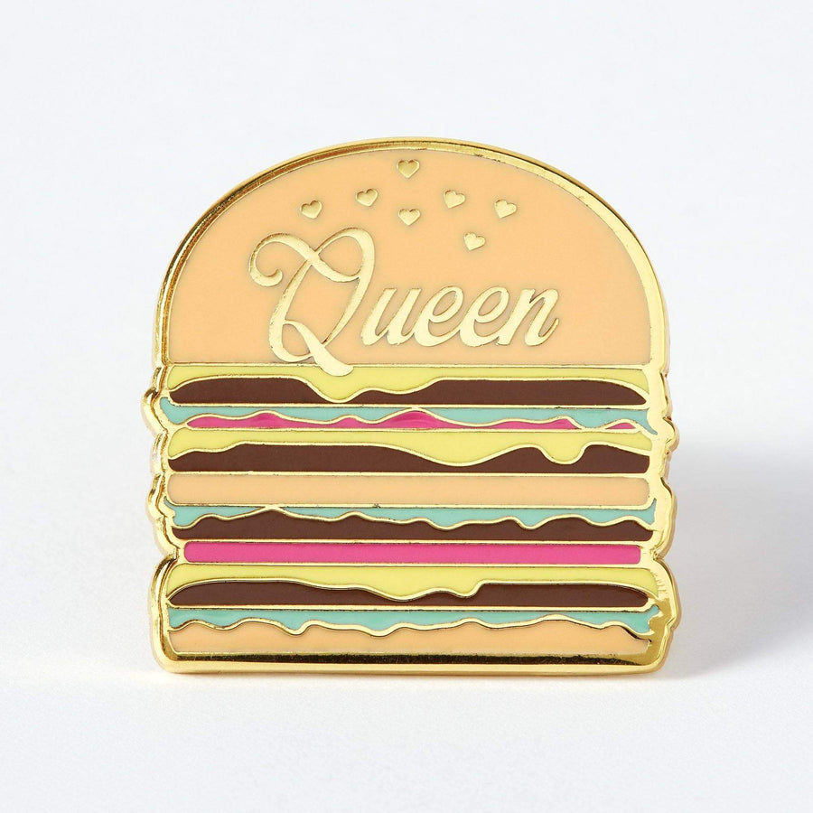 Elorasaurus Burger Queen Enamel Pin
