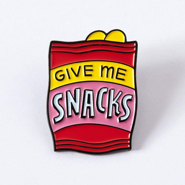 Punky Pins Give Me Snacks Enamel Pin