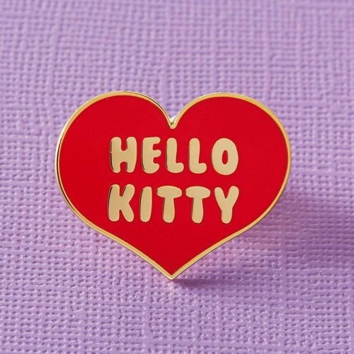 Hello Kitty Heart Enamel Pin