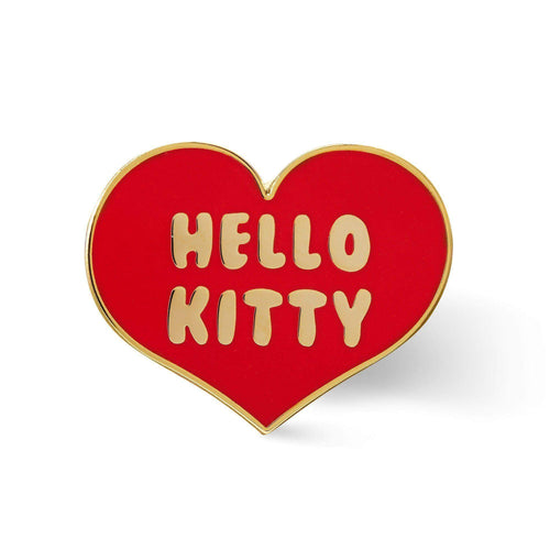 Punky Pins Hello Kitty Heart Enamel Pin