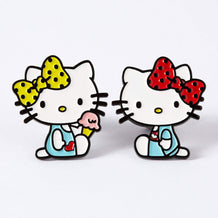 Punky Pins Hello Kitty Mimmy & Kitty Enamel Pin Set