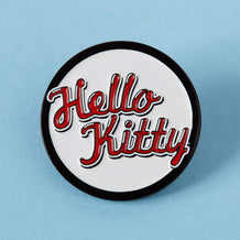 Punky Pins Hello Kitty Retro Enamel Pin